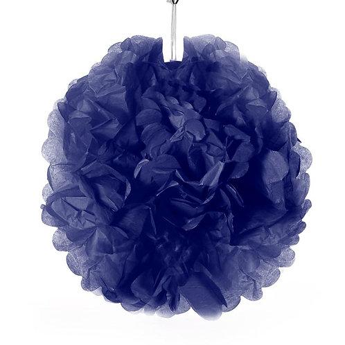 Tissue Pom Pom - Navy Blue