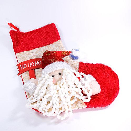 Christmas Hanging Sock Santa Clause