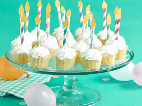 BIRTHDAY CANDLE CUPCAKE TOPPERS DIY