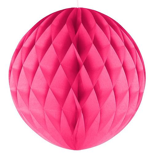 Fuschia Honeycomb Ball Lanterns
