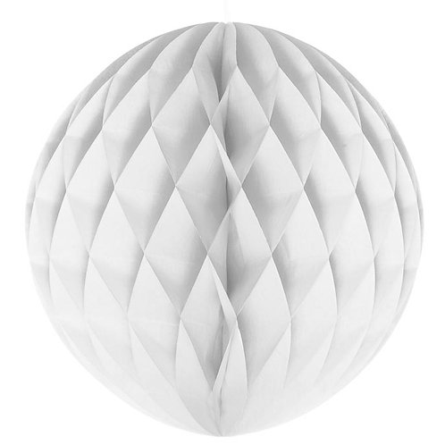 White Honeycomb Ball Lanterns