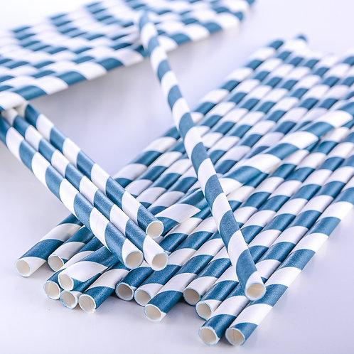 Paper Straws -Stripes