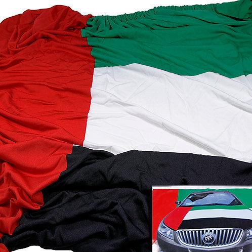 CAR BONNET FLAG - UAE Flag