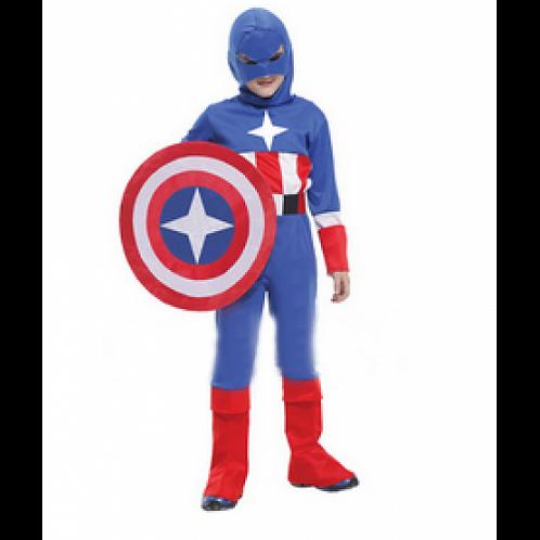 Captain America Boy Costume