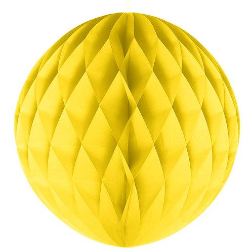 Yellow Honeycomb Ball Lanterns