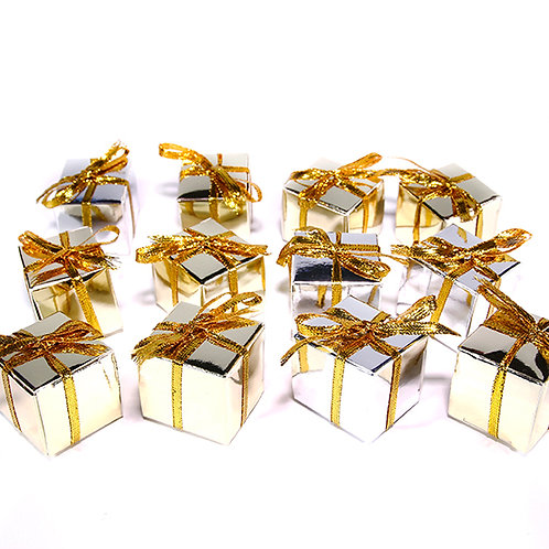 Gold Gift Decoration (12 Pack)