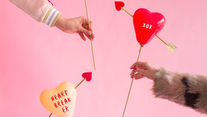 Cupid's Hearts - Balloons Party Cube