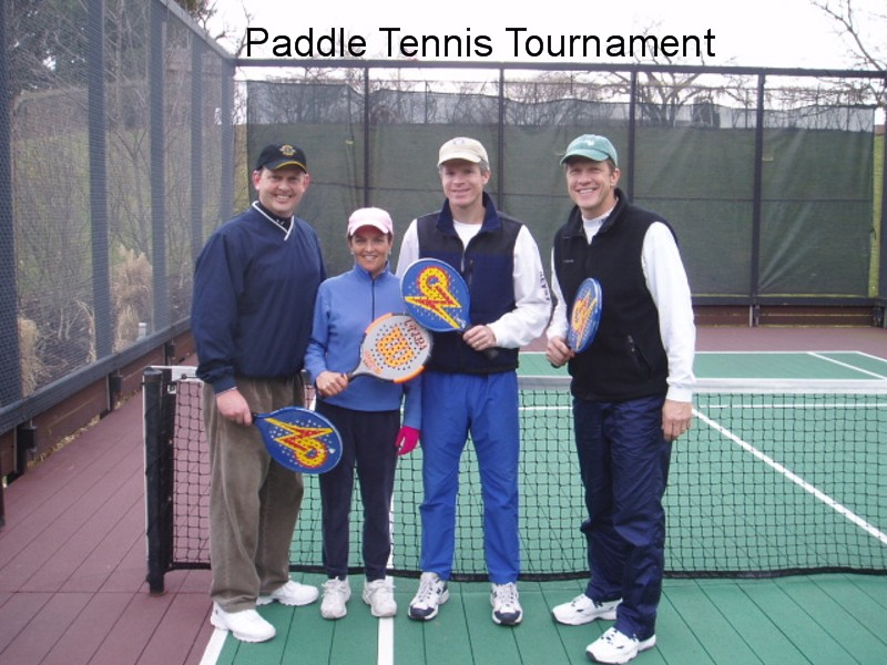 Paddle Tennis Tournament