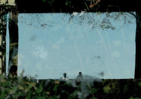 Cinéma naturel.   Travail sur les reflets, les ombres, visions surréalistes.