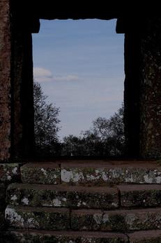 Porte de pierre.