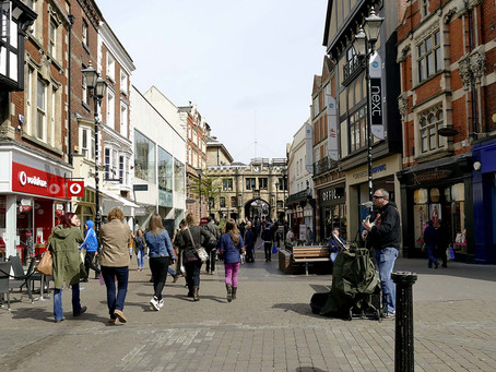 A note from Esther McVey: I'm shopping local - are you?