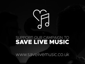 Save Live Music Campaign Launched