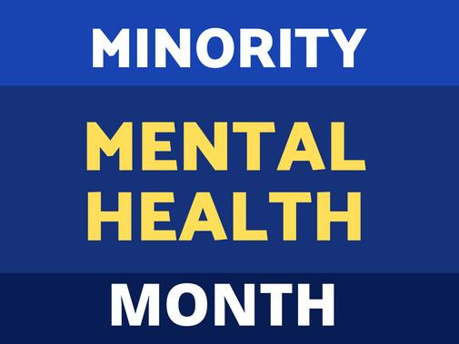 Minority Mental Health Month