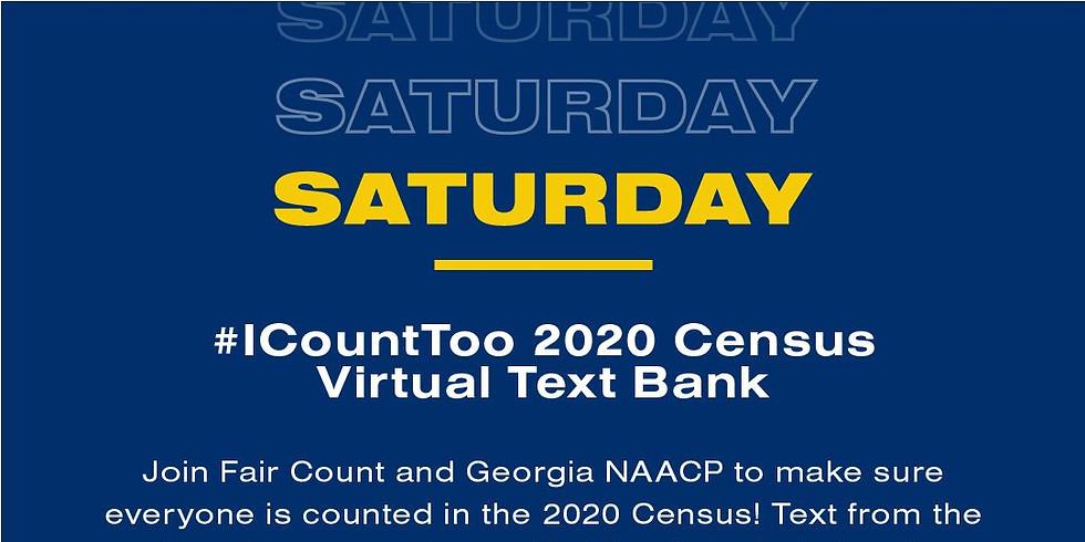Georgia NAACP x Fair Count Weekend of Action - Virtual Text Bank