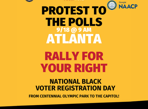 Georgia NAACP, BET, Urban League, NGP, and Others to Celebrate National Black Voter Registration Day