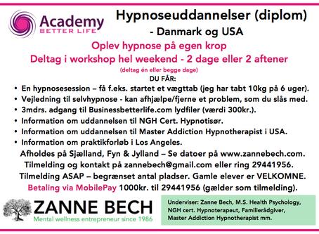 Slip fortiden - REGRESSIONS TERAPI med hypnose