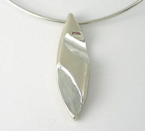 P002 Solid Silver Pendant.