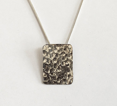 M003: Dimpled Textured Pendant