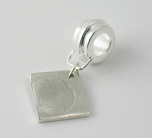 FT19: Charm Link. With Fingerprint Design.