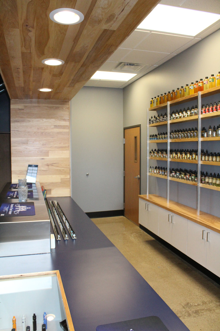 Independent Vapor Retail Counter