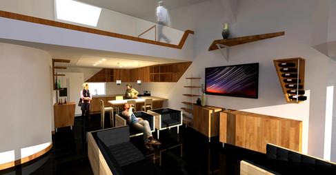Modern Loft Rendering