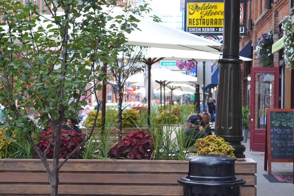 Custom Built Site Features, Greektown, Detroit