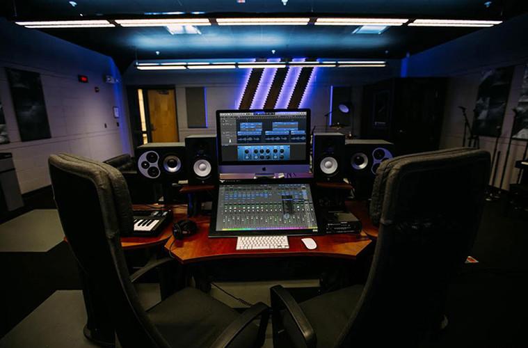 Cass Tech Recording Studio