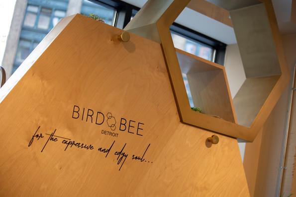 Bird Bee Detail Shot