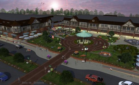 The St. Clair Town Center Courtyard - St. Clair, MI