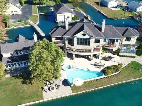 $2.6M Harsens Island lake house