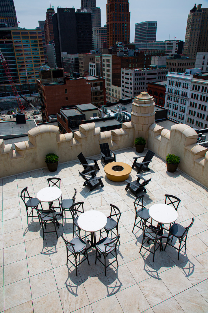Rooftop Bar - Monarch Club, Detroit