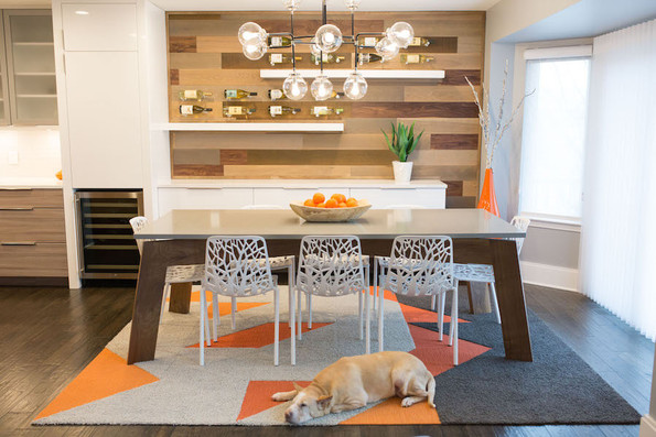 Dining room focal feature