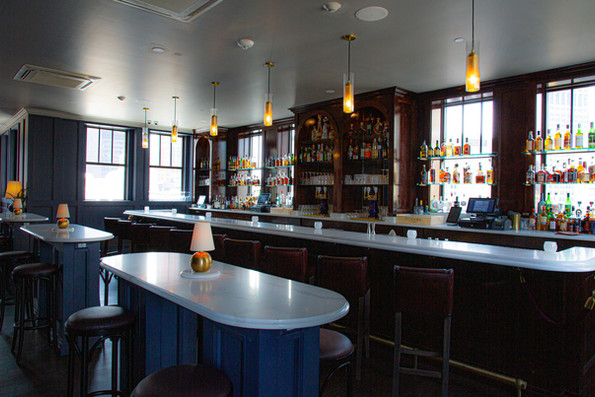 Bar Area  - Monarch Club, Detroit