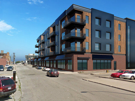 Newly released Infuz rendering of development in Port Huron