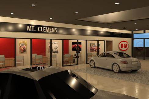 Kia Dealership Showroom - Mt. Clemens, MI
