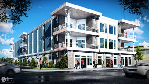 JGM Mixed Use Building - Marine City, MI
