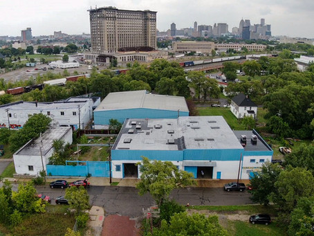 Design concepts released for available 12,500 SF warehouse in Corktown, Detroit