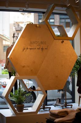 Bird Bee Detroit Window Display