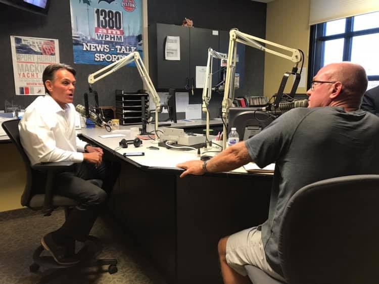 Mark Hackel and Jeff Bohm - WPHM Morning Show