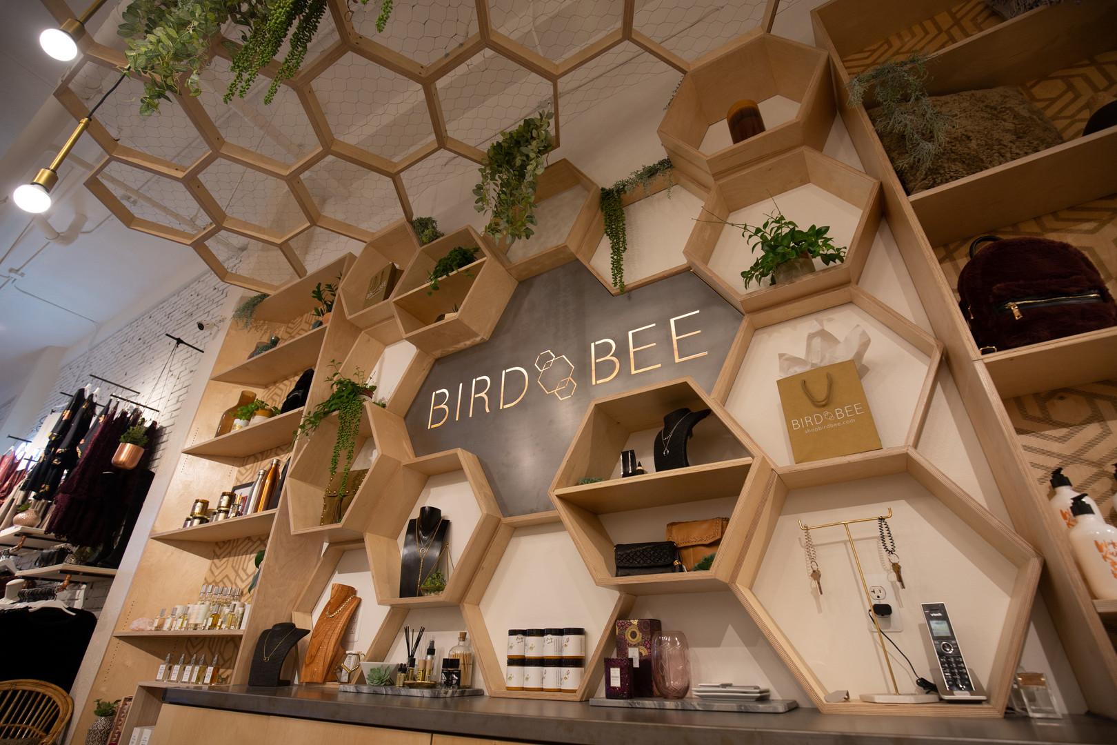 Bird Bee Detroit Custom Interior Installation