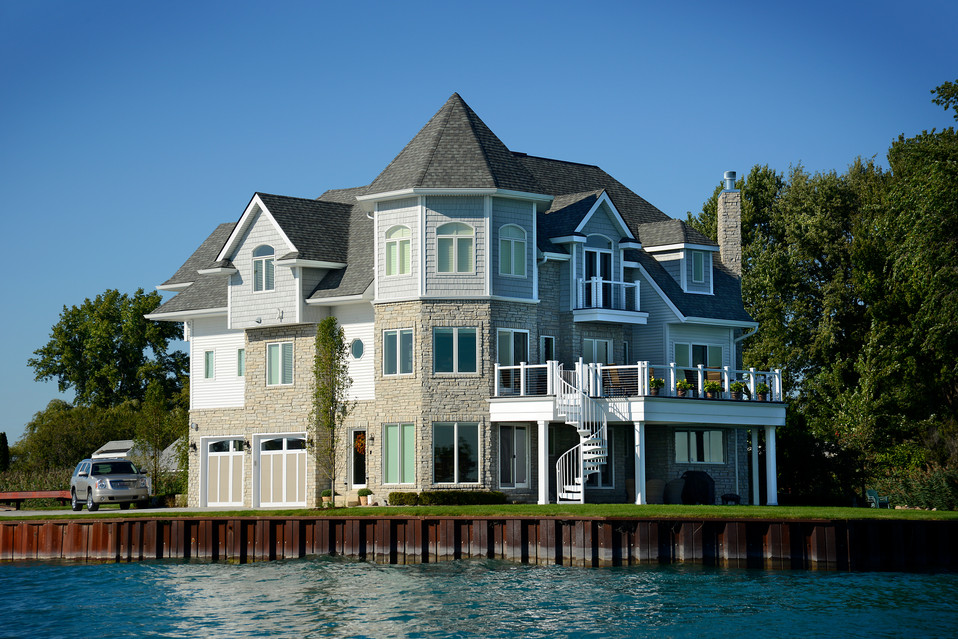 Waterfront Lookout Residence - Harsens Island, MI