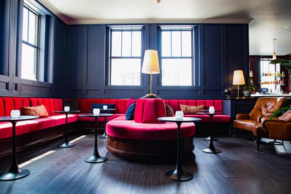 Lounge Area - Monarch Club, Detroit