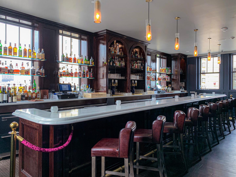 Bar Detail - Monarch Club, Detroit