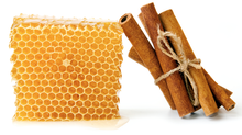 Cure yourself with Honey and Cinnamon