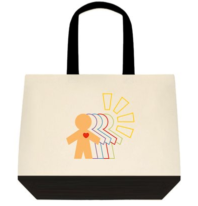 Beyond Physical Logo Shopping bag