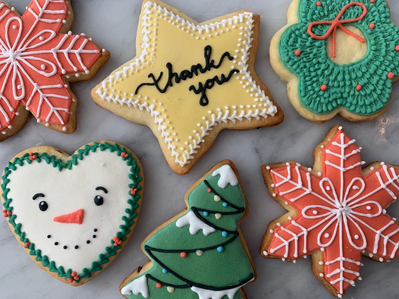 """Joy to the World"" Christmas Sugar C"