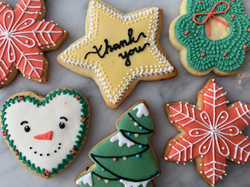 """Joy to the World"" Christmas Cookies"