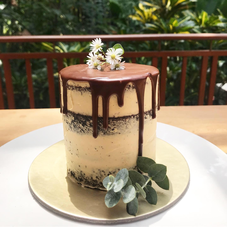 Mini Chocolate Peanut Butter Cake