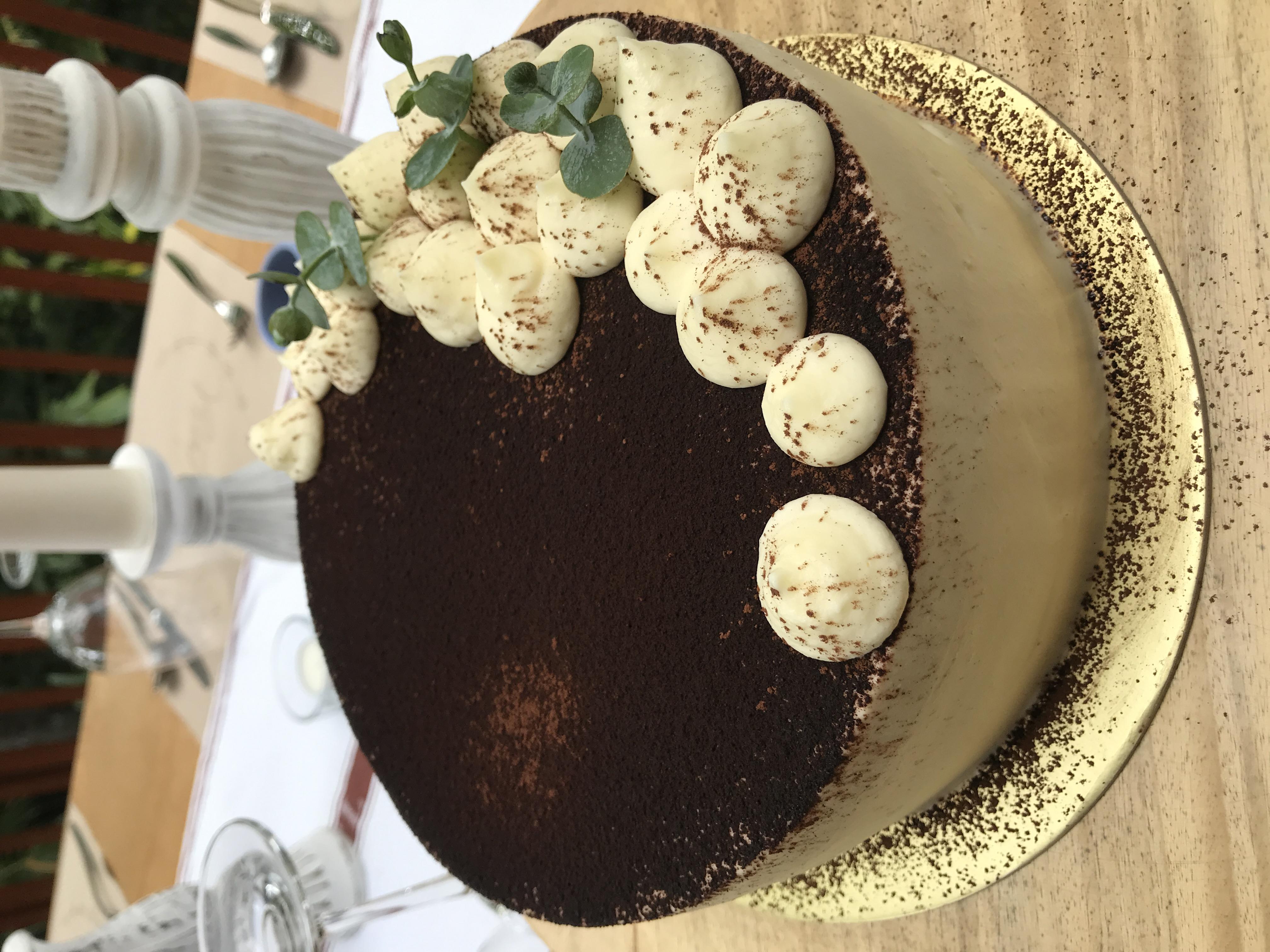 Tiramisu Layered Cake