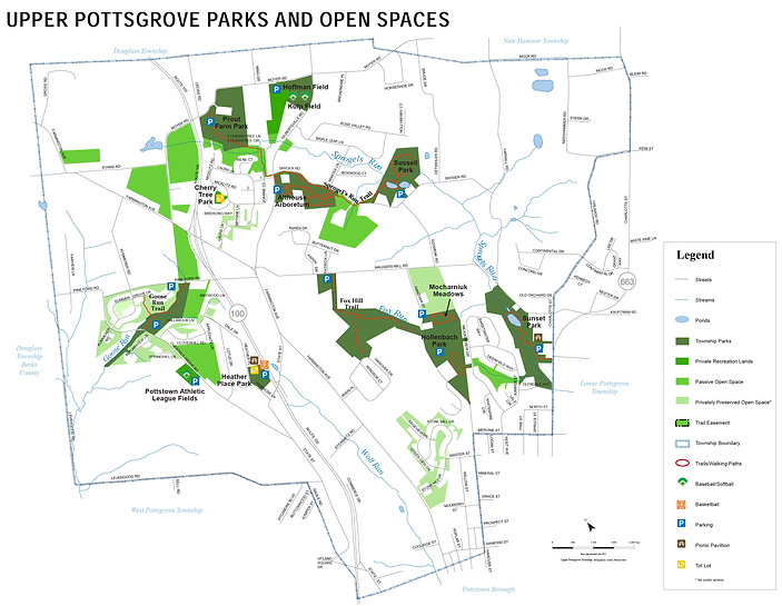 Map - 2016 February Parks & Open Spaces